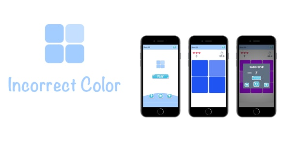 Incorrect Color - iOS Game - CodeCanyon Item for Sale