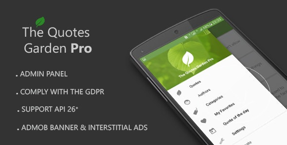 The Quotes Garden Pro v1.2 - CodeCanyon Item for Sale