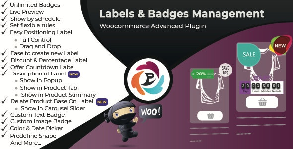 WooCommerce Advance Product Label and Badge Pro - CodeCanyon Item for Sale