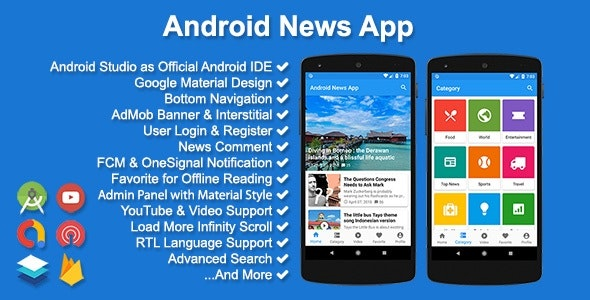 Android News App by solodroid | CodeCanyon