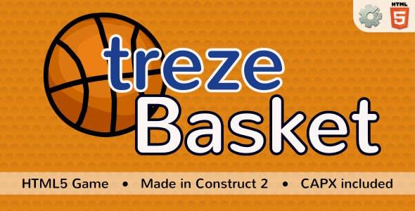 trezeBasket - HTML5 Sport game