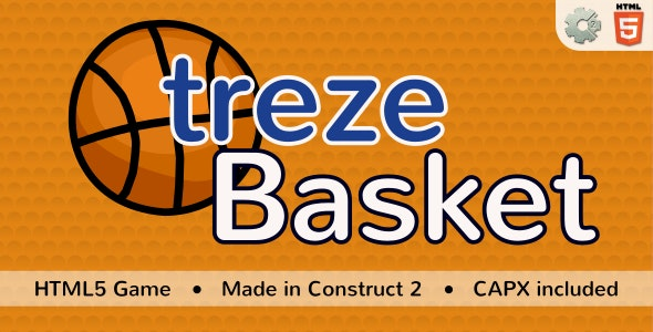 trezeBasket - HTML5 Sport game - CodeCanyon Item for Sale