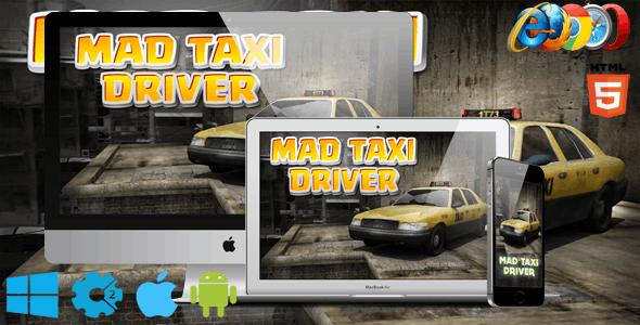 Mad Taxi Driver - CodeCanyon Item for Sale