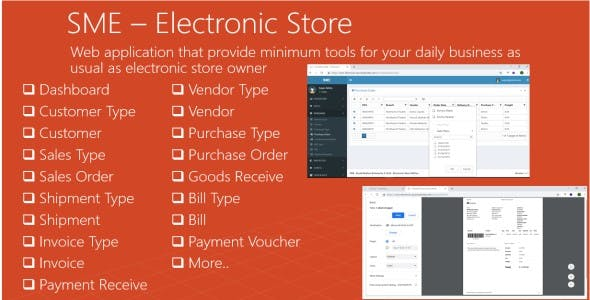 Electronic Store Inventory Order Management