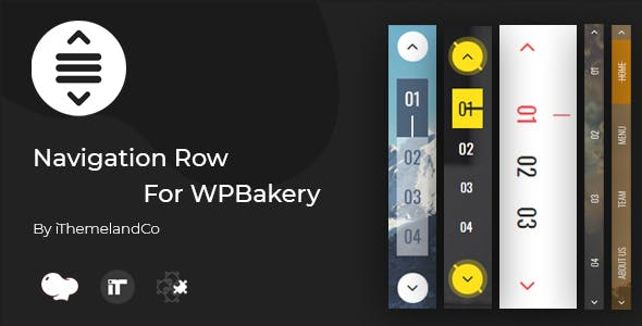 Row Navigation For WPBakery Page Builder (Visual Composer)