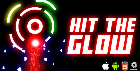 Hit The Glow - HTML5 Game (CAPX)