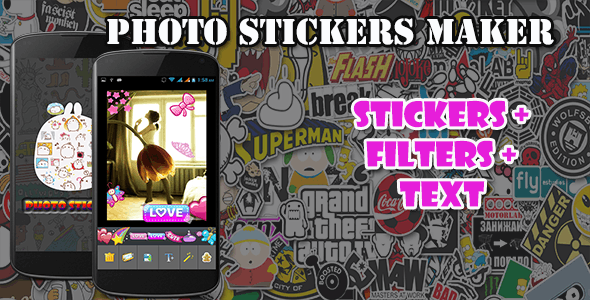 Photo Sticker Maker - CodeCanyon Item for Sale
