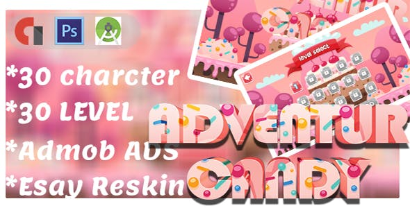New Candy Adventure Game Platform