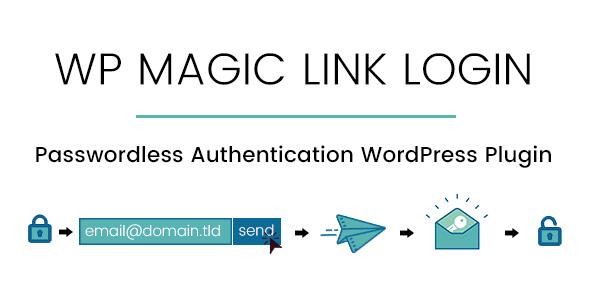WP Magic Link Login - Passwordless Authentication WordPress Plugin - CodeCanyon Item for Sale