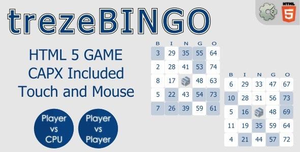 trezeBINGO - HTML5 Gambling Game - CodeCanyon Item for Sale