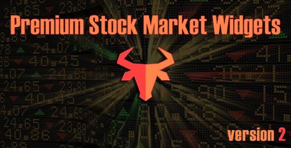 Premium Stock & Forex Market Widgets | PHP Plugin