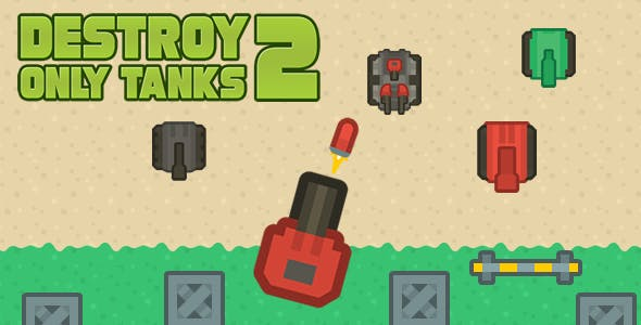 Destroy Only Tanks 2