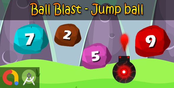 Blast Ball - Android Studio + Admob + GDPR