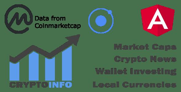 Crypto Currencies Full App + IONIC 3 + Coinmarketcap + Cross platform ( Android, iOS )