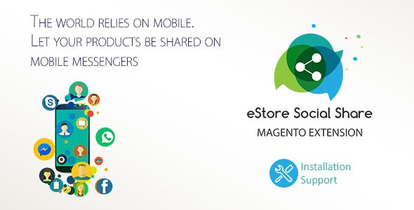 eStore Social Share - CodeCanyon Item for Sale