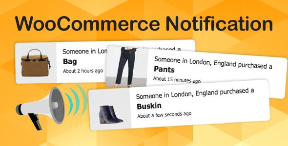WooCommerce Notification | Boost Your Sales - Live Feed Sales - Recent Sales Popup - Upsells        Nulled