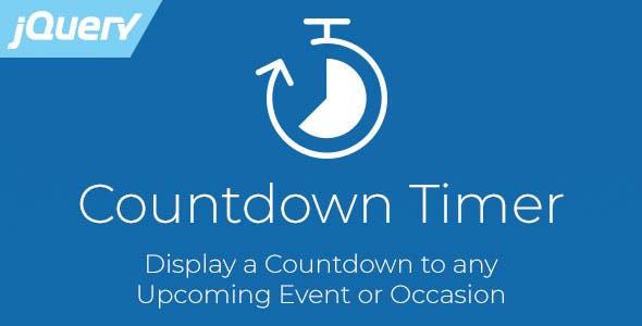 Countdown Timer - Responsive jQuery Plugin