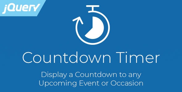 Countdown Timer - Responsive jQuery Plugin by
