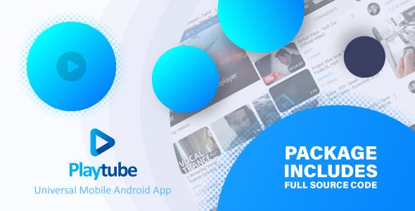 PlayTube - Sharing Video Script Mobile Android Native Application