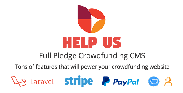 HelpUs - Ultimate Crowdfunding Solution - CodeCanyon Item for Sale