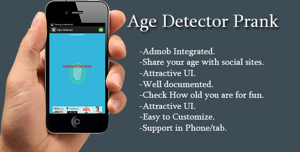 Age Detector - CodeCanyon Item for Sale