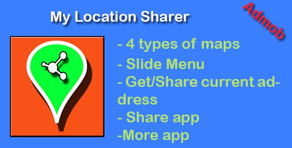 My Location Sharer - CodeCanyon Item for Sale