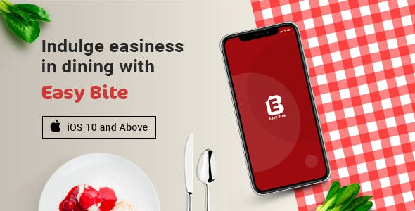 EasyBite | Restaurant Booking App | iOS Template