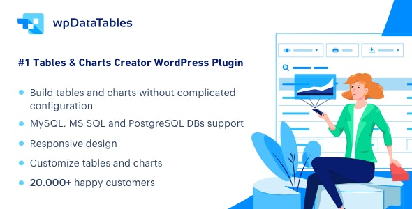 wpDataTables - Tables and Charts Manager for WordPress - CodeCanyon Item for Sale