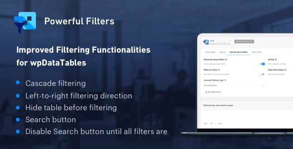 Powerful Filters for wpDataTables - Cascade Filter for