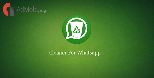 Cleaner For Whatsapp - CodeCanyon Item for Sale