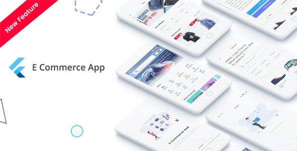Flutter E-Commerce UI KIT