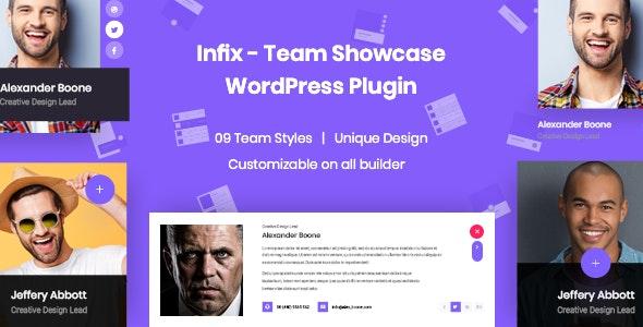 InfixTeam - Team Showcase WordPress Plugin - CodeCanyon Item for Sale