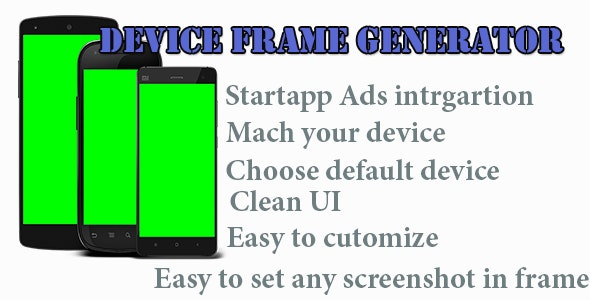 Device Frame Generator - CodeCanyon Item for Sale