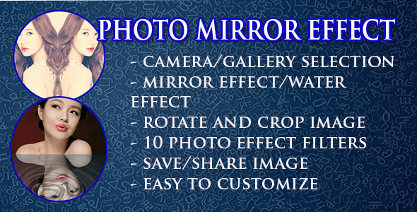 Photo Mirror Effect