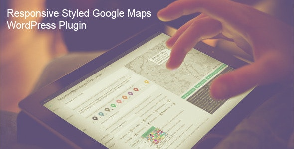 Responsive Styled Google Maps - WordPress Plugin - CodeCanyon Item for Sale
