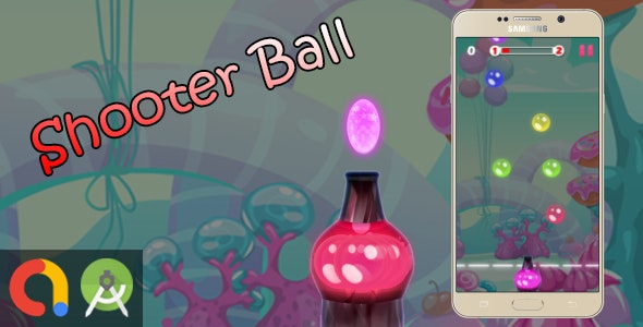 Bubble Ball Shooter - Android Studio + Admob + GDPR + API 27 + Eclipse - CodeCanyon Item for Sale