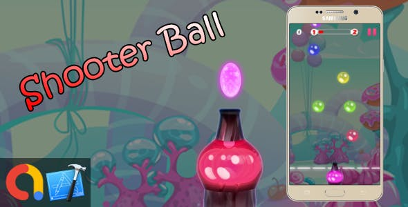 Bubble Ball Shooter - iOS Xcode 10 + Admob