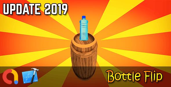 Bottle Flip - iOS Xcode 10 + Admob