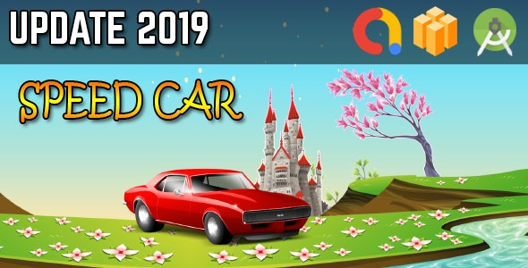 Car Speed Game - Android Studio + Buildbox Template + Admob + GDPR + API 27 + Eclipse - CodeCanyon Item for Sale