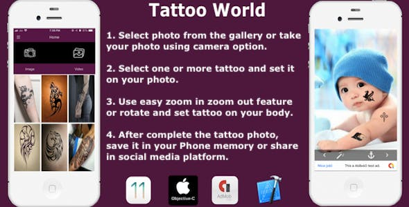 Tattoo World - CodeCanyon Item for Sale