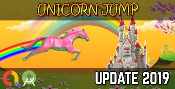 UNICORN JUMP - Android Studio + Admob + GDPR + API 27 + Eclipse