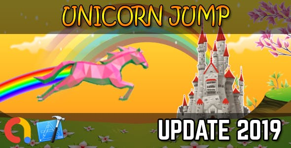 UNICORN JUMP - iOS Xcode 10 + Admob
