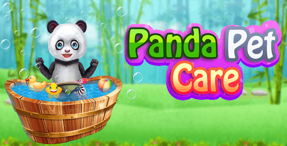Baby Panda Pet Daycare + AndroidStudio + Admob + Chartboost