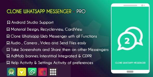 Whatsapp Clone Plugins, Code & Scripts from CodeCanyon