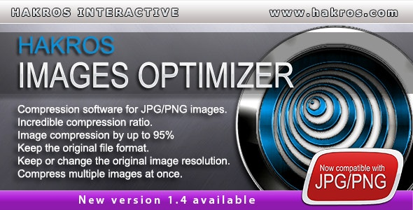 Wordpress Image Optimizer Plugin by Hakros