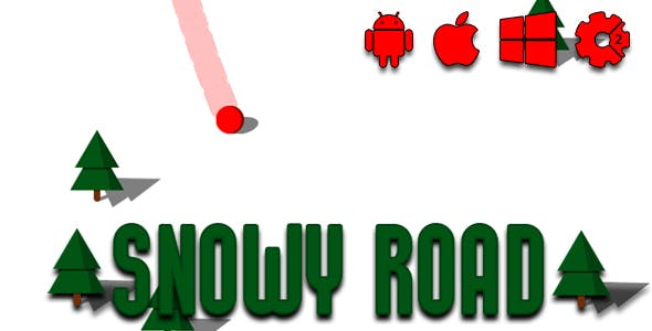 Snowy Road - HTML5 Game (CAPX)