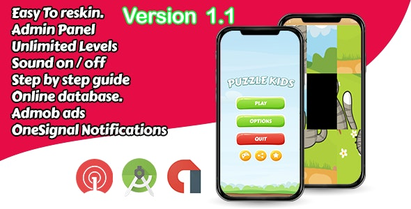 Puzzle Game For Kids - Android - CodeCanyon Item for Sale