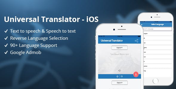 Universal Translator - iOS