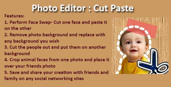 Photo Editor: Cut Paste