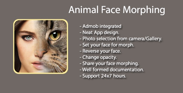FotoMix - Animal Face Morphing - CodeCanyon Item for Sale